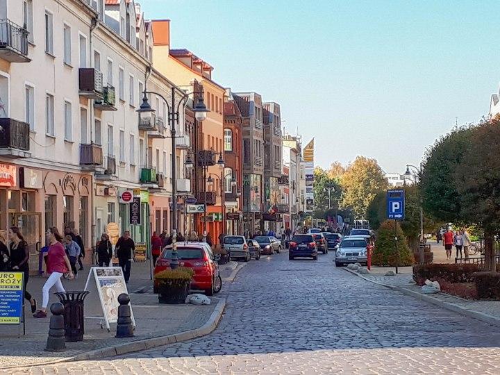 Malbork town